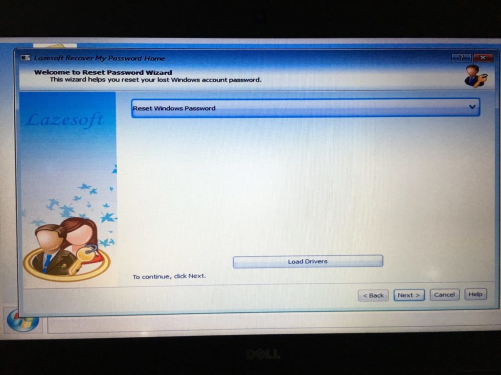 reset pass window 6